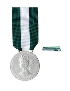 Médaille d'Honneur Régionale, Départementale et Communale Argent 20 ans en Bronze argenté. Fixe ruban en option. La médaille d'H