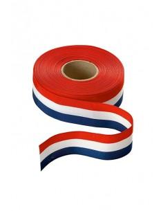 Ruban pavillon bleu, blanc, rouge - 4 dimensions disponibles