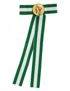 Liens pour Diplômes bicolore vert et blanc - Couleur Or ou Argent disponible.