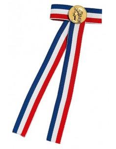 Liens pour Diplômes tricolore bleu, blanc et rouge - Couleur Or ou Argent disponible.