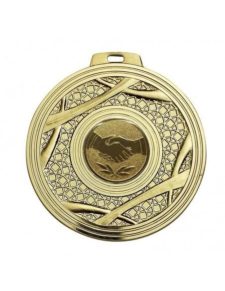Médaille laiton 70mm Or, Argent et Bronze