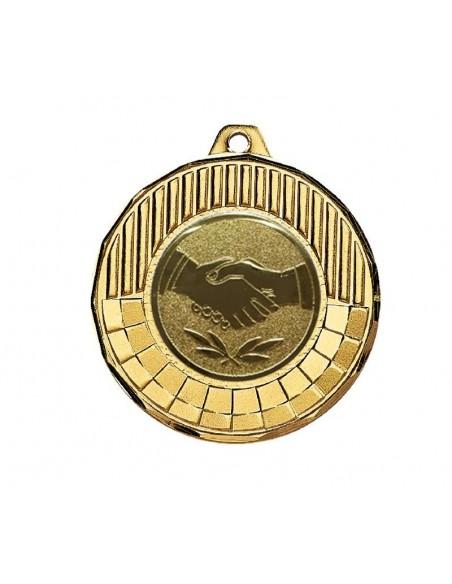Médaille Laiton ø50mm Or, Argent et Bronze