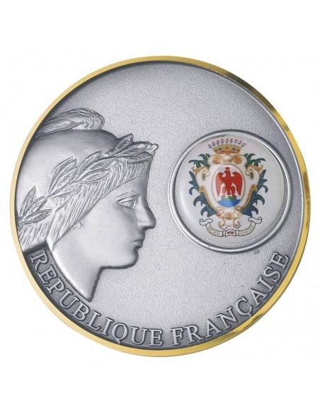 Médaille Marianne laiton ø70mm