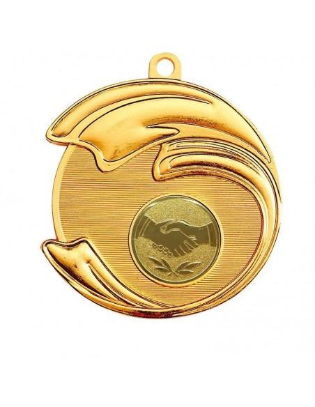 Médaille zamak ø70mm Or, Argent et Bronze