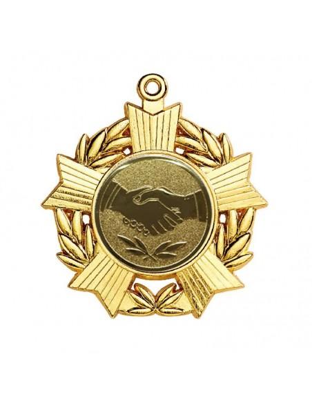 Médaille zamak ø50mm Or, Argent et Bronze