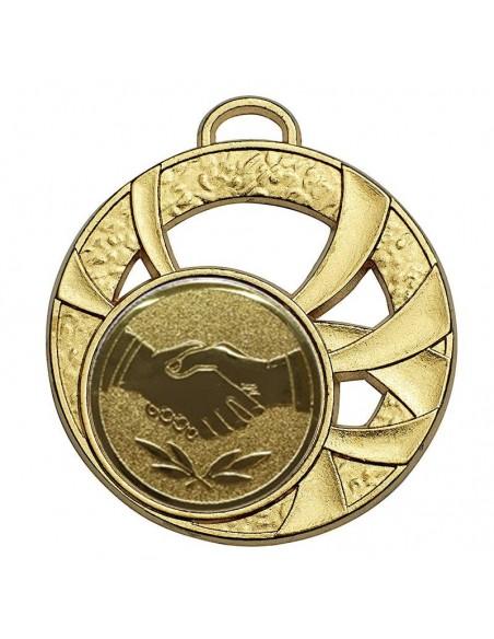 Médaille zamak 45mm Or, Argent et Bronze