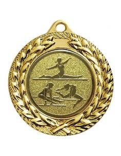 Médaille zamak 40mm Or, Argent et Bronze