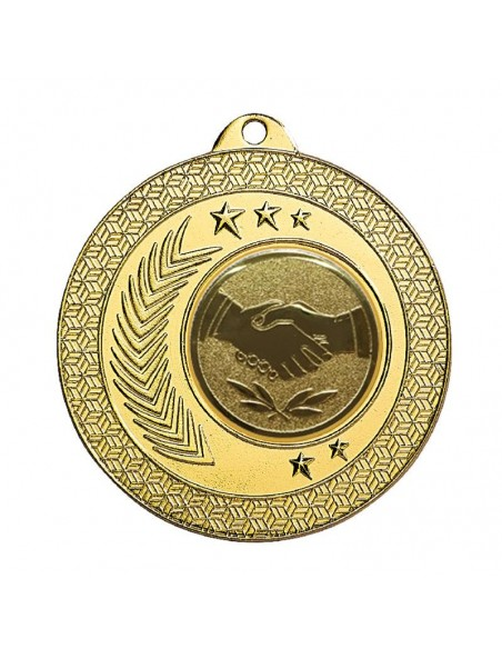 Médaille fer ø50mm Or, Argent et Bronze