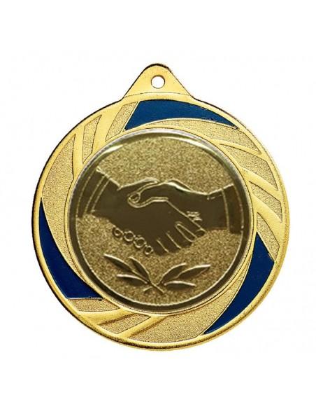 Médaille fer ø70mm Or, Argent et Bronze