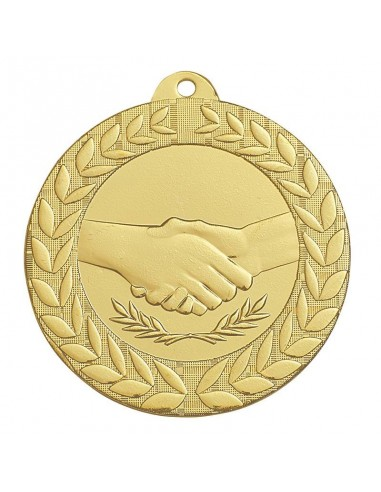Médaille estampée fer Fair-PLay 50mm Or
