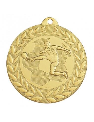 Médaille estampée fer Foot 50mm Or, Argent et Bronze
