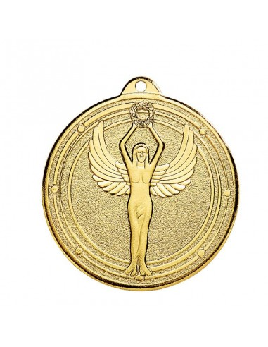 Médaille estampée fer Victoire 50mm Or, Argent et Bronze
