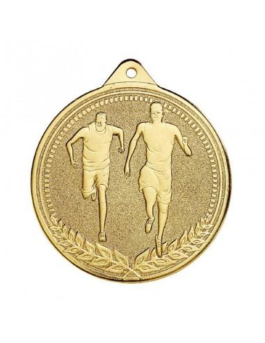 Médaille estampée fer Cross 70mm Or