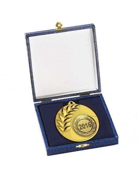 ECRIN BLEU POUR MEDAILLE 87mm 13X13cm - Les médailles sont vendues séparément
