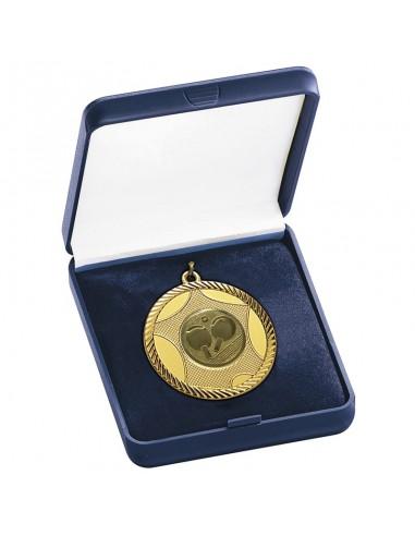 ECRIN BLEU POUR MEDAILLE Ø50mm - Les médailles sont vendues séparément