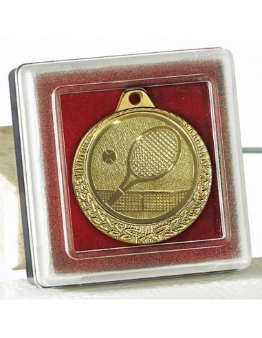 ECRIN POUR MEDAILLE dimension boitier 5X5cm - Les médailles sont vendues séparément