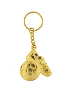 PORTE CLEF FOOT OR (M947)