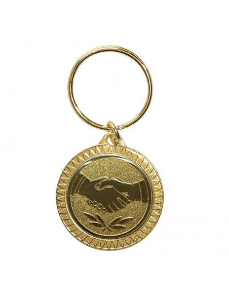PORTE CLEF OR
