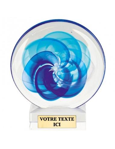 Trophée design 17cm