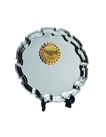 Trophée assiette métal Ø25cm