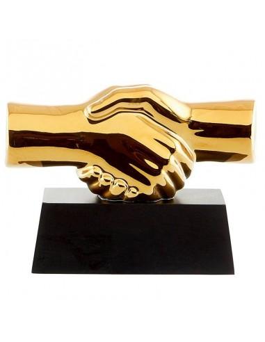 Trophée céramique hauteur 18x14cm