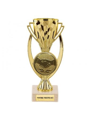 Trophée plastique 18cm