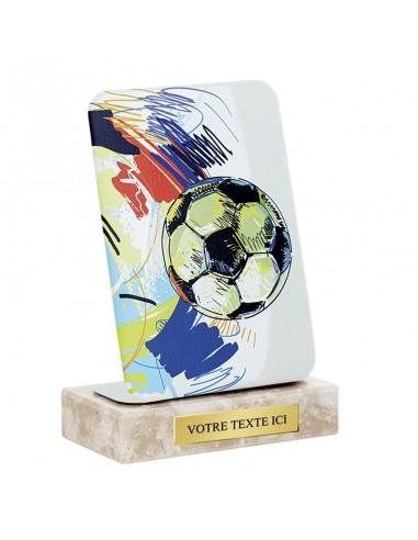 Trophée Alu 14cm - Disciplines sportives et plaques numériques couleurs au choix