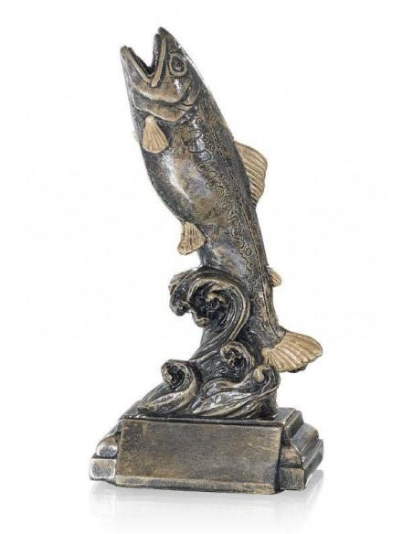 Résine poisson hauteur 22 cm