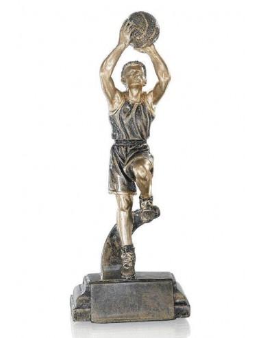 Résine basket homme hauteur 25cm