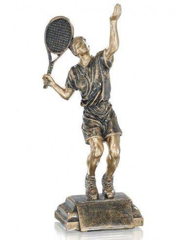 Résine tennis homme hauteur 25cm