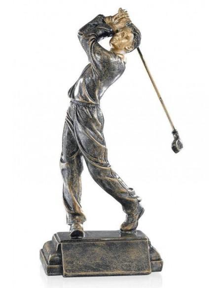 Résine golf homme hauteur 24cm