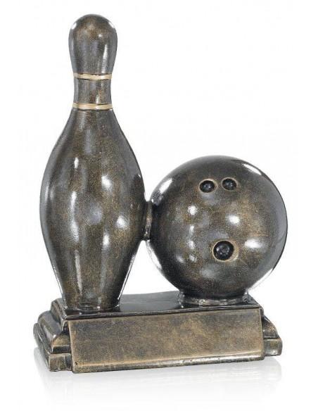 Résine bowling hauteur 21cm