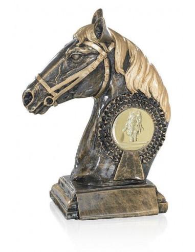 Résine cheval hauteur 23 cm