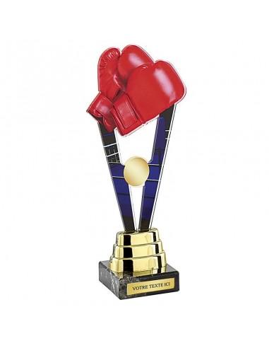 Trophée boxe 24cm