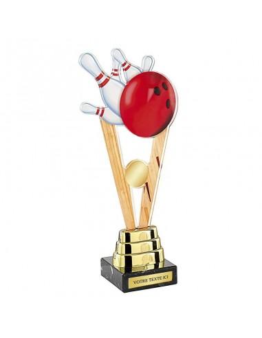 Trophée bowling 25cm