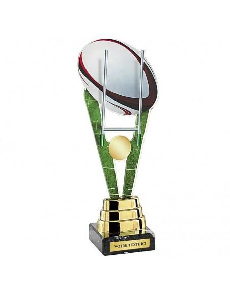 Trophée rugby 25cm