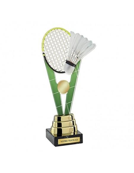 Trophée badminton 24cm
