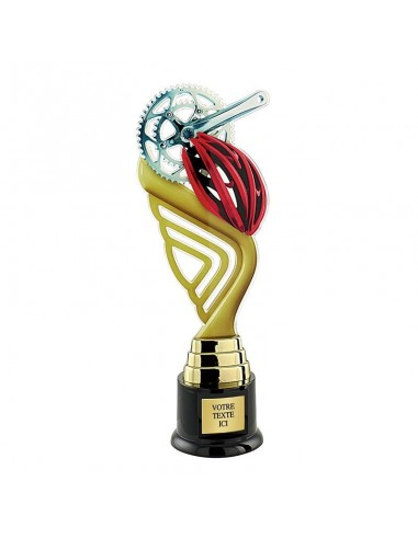 Trophée cyclisme 31cm
