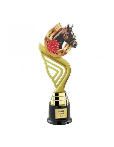 Trophée équitation 31cm