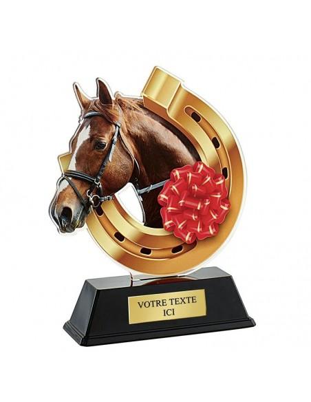 Trophée équitation 16cm