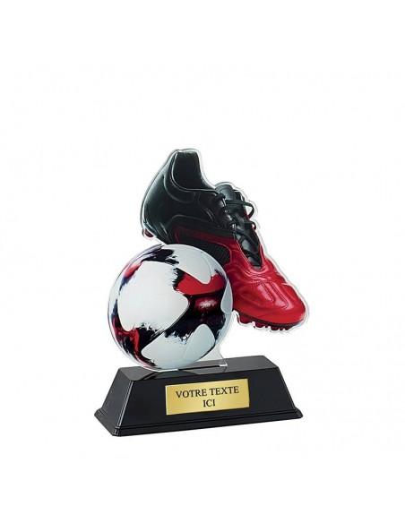 Trophée football 16cm
