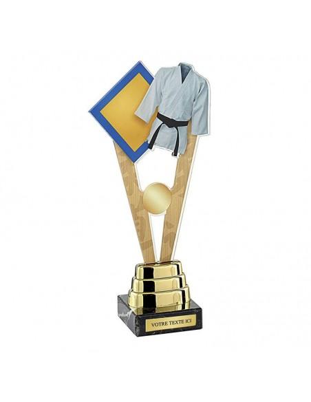 Trophée judo 26cm