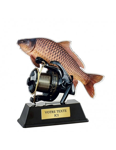 Trophée pêche 16cm