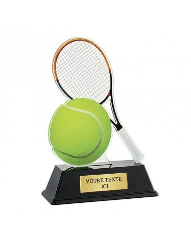 Trophée tennis 16cm