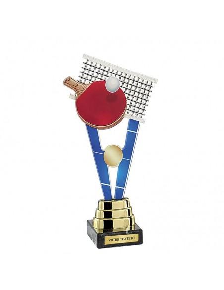 Trophée tennis de table 24cm