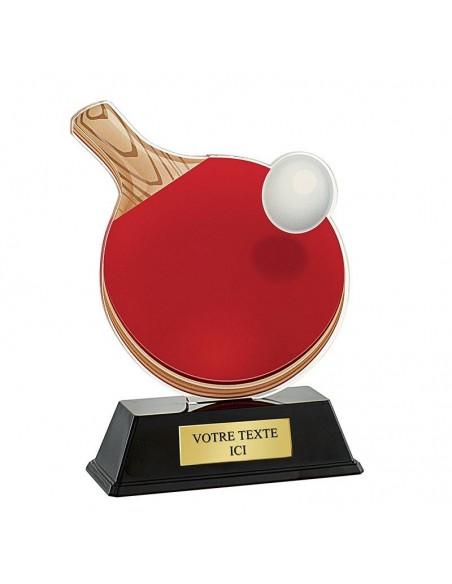 Trophée tennis de table 16cm