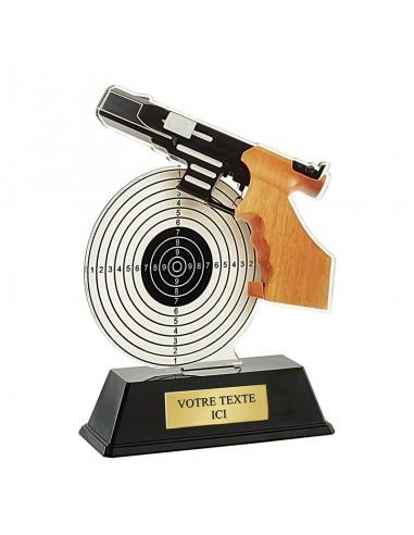 Trophée tir pistolet 16cm