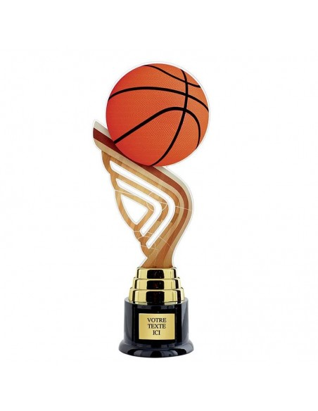 Trophée basket 31cm
