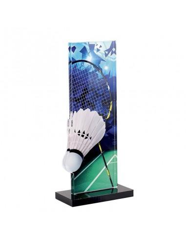 Trophée Badminton 22cm