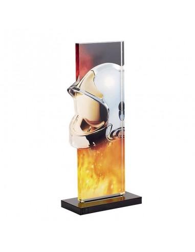 Trophée pompier 22cm